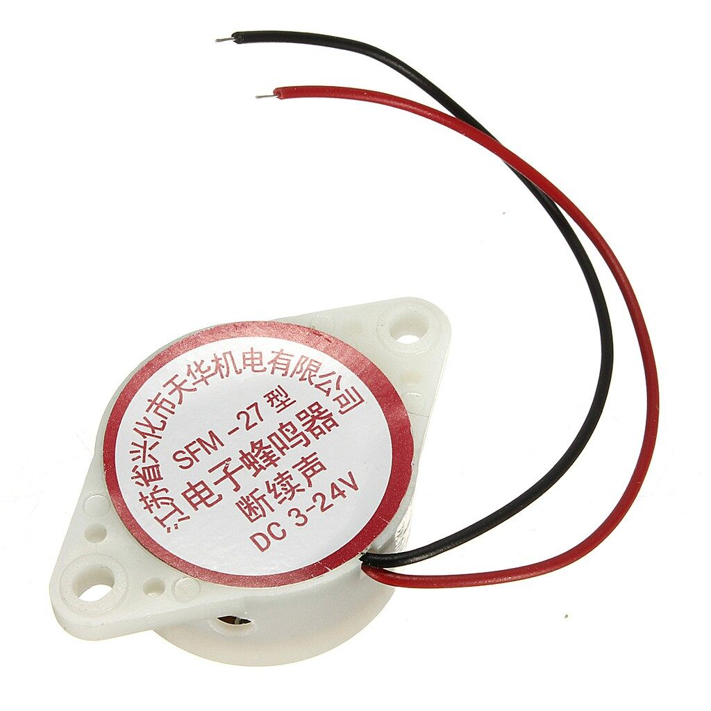 Tyres & Wheels - 95DB Alarm Arduino High-decibel DC Electronic Buzzer - Car Replacement Parts