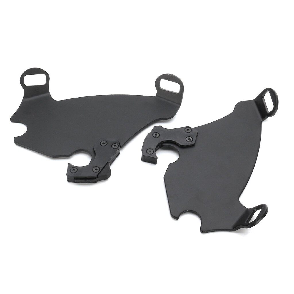 Moto Accessories - Motorcycle Fork Bracket Fairing Trigger Lock Kit For Harley Sportster XL883 1200 - 39MM / 49MM