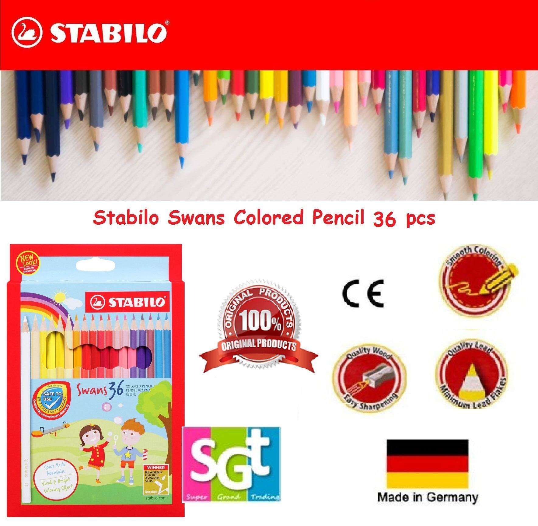 Stabilo Swans Colored Pencil 36pcs (Art No.1878)