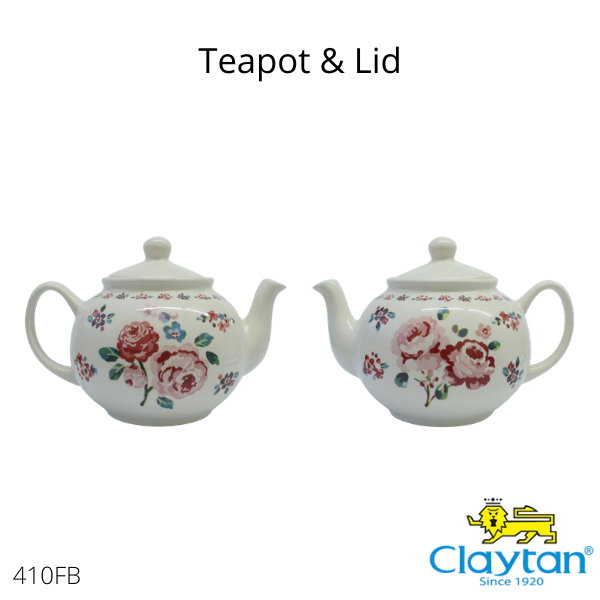 Claytan Tableware- Oriental Ceramic-410FS Fragrance Rose