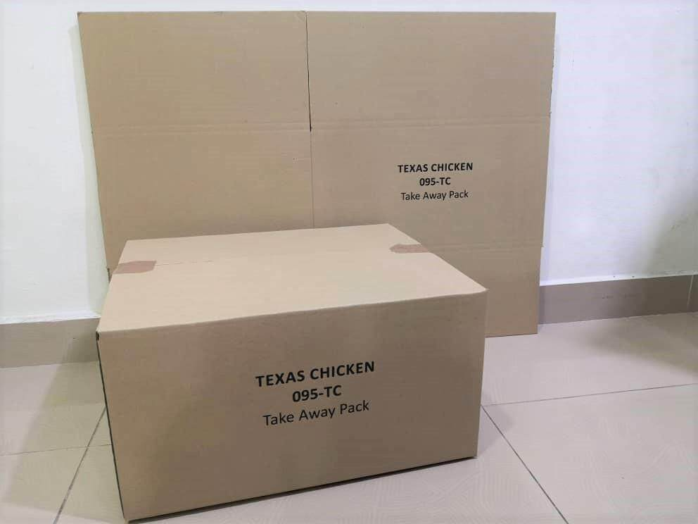 10pcs Printed Carton Boxes (L458 X W381 X H242mm)