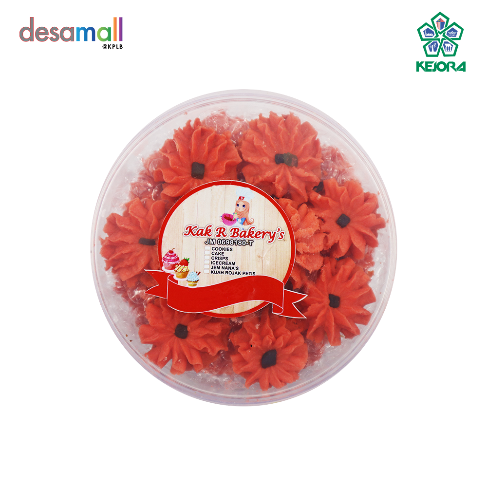 KAK R BAKERY\'S Dahlia Strawberry (300g)