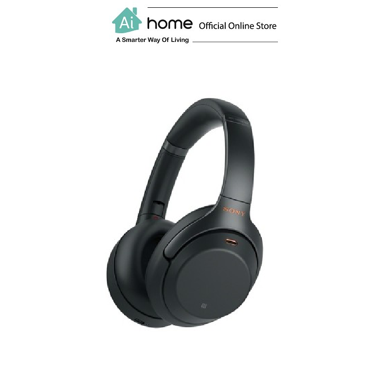 SONY WH-1000XM3 Noise-Cancelling [ Bluetooth Headphone ] (Black) with 1 Year Malaysia Warranty [ Ai Home ] SONY WH-1000XM3 Headphone