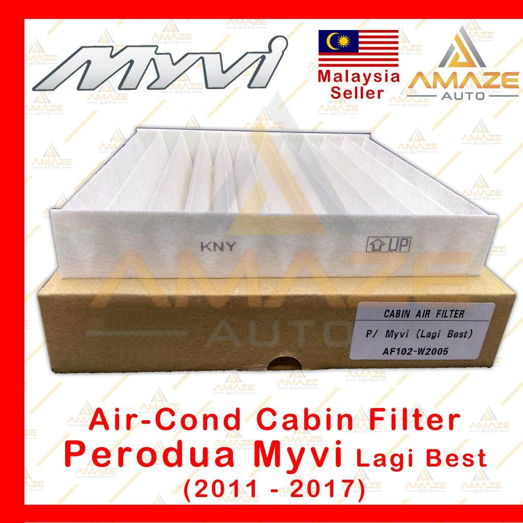 Air-Cond Cabin Filter for Perodua Myvi Lagi Best (2011-2017) (Equals to OEM: 014520-2990)