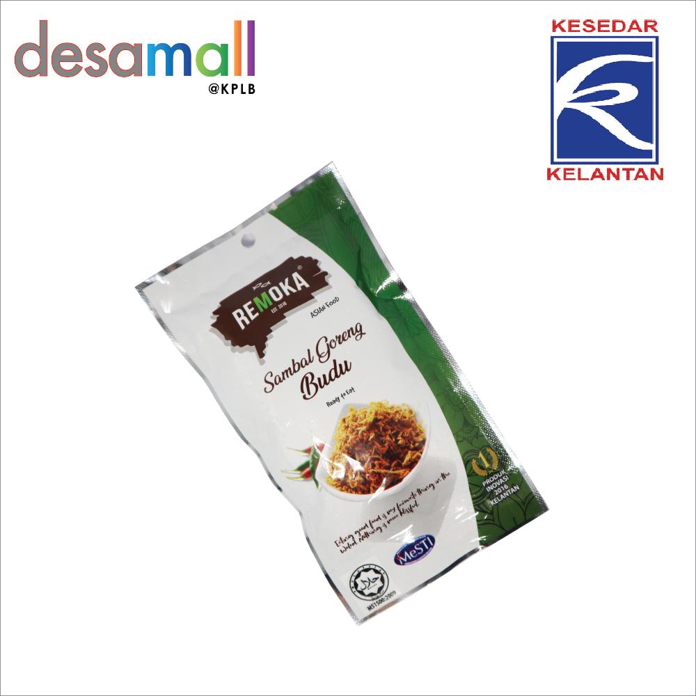 REMOKA Sambal Goreng Budu In Travel Pack (10pack x 45g)