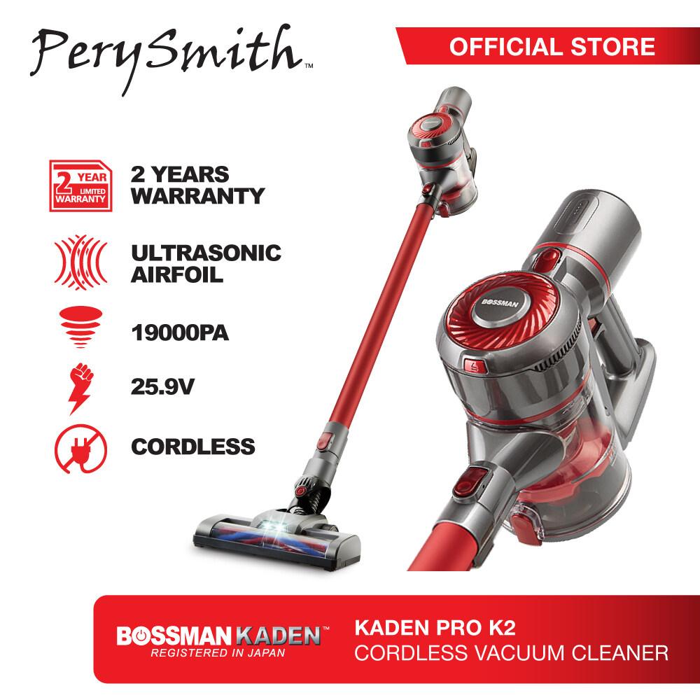 PerySmith Cordless Vacuum Cleaner X Bossman Kaden PRO K2 (Ha...