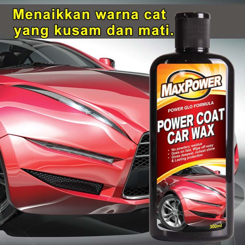 MAXPOWER Power Coat Car Wax 300ml