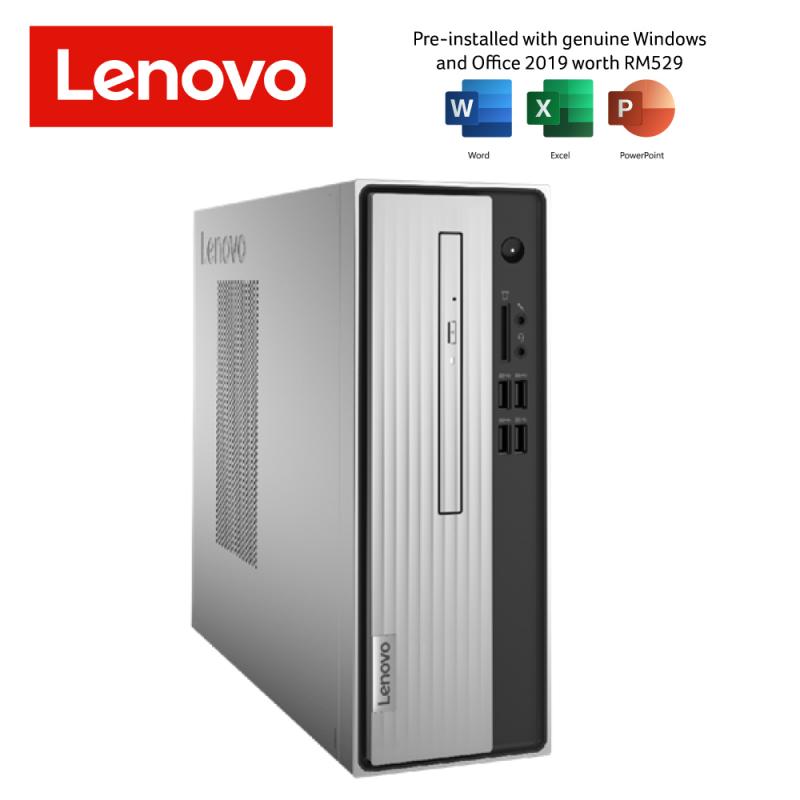LENOVO IDEACENTER Desktop 07IMB05-90NB0098MI INTEL CORE I5-10400 4GB DDR4 512GB SSD DVDRW INTEL HD KB+MSE PRE-LOADED OFFICE H&S  3 Years Warranty Onsite