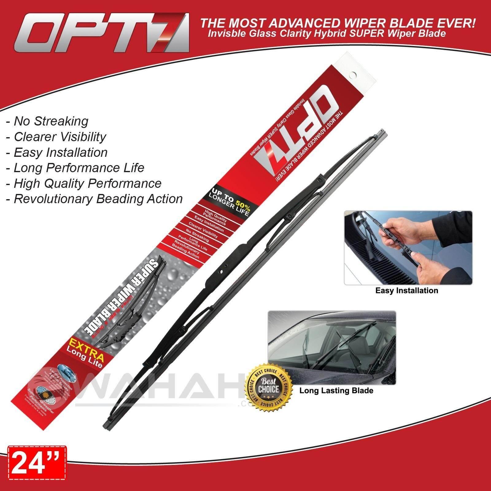 "OPT7 Car Window Windshield Super Wiper Blade 24"""