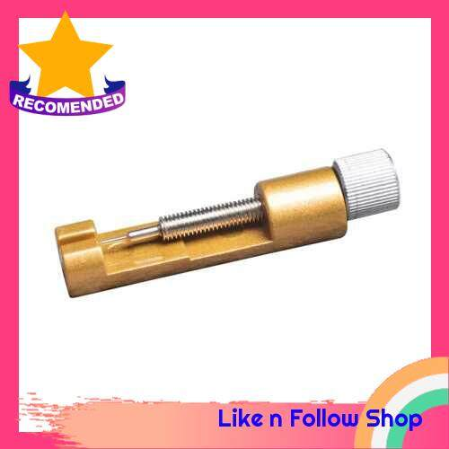 Repairing Sizing Tool for Leather Stainless Steel Watch (Yellow)