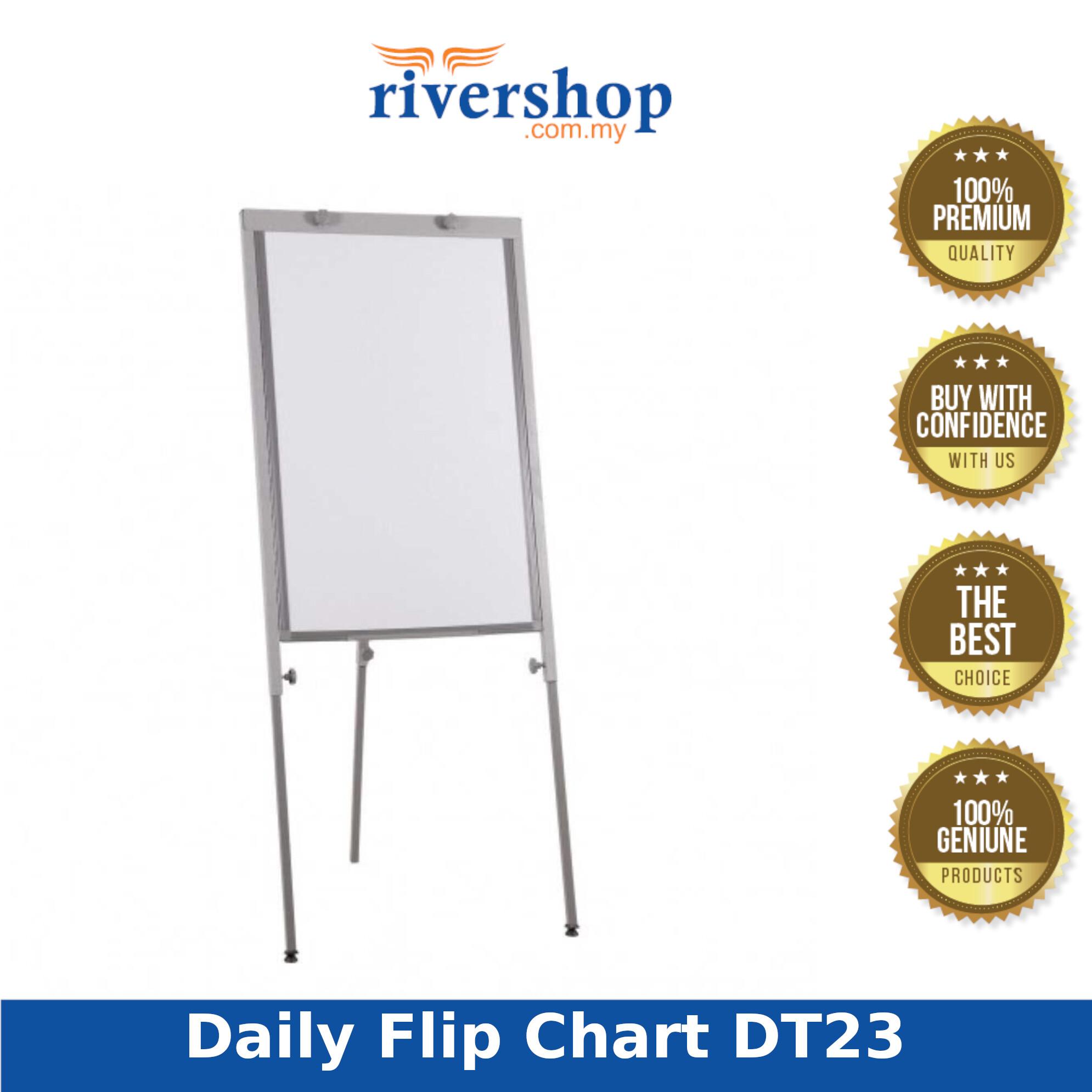Daily Flip Chart DT23 - 105-191H x 65W x 56-97D (Item No: G05-56) A8R1B23