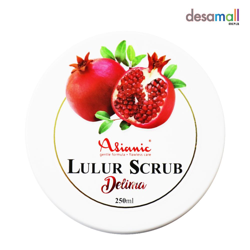 ASIANIC Lulur Scrub - Delima (250ml)