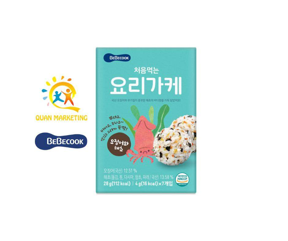 BeBecook Cooking Powder Squid & Seaweed Flavor - Baby/Child Dishes and 100% imported from korea