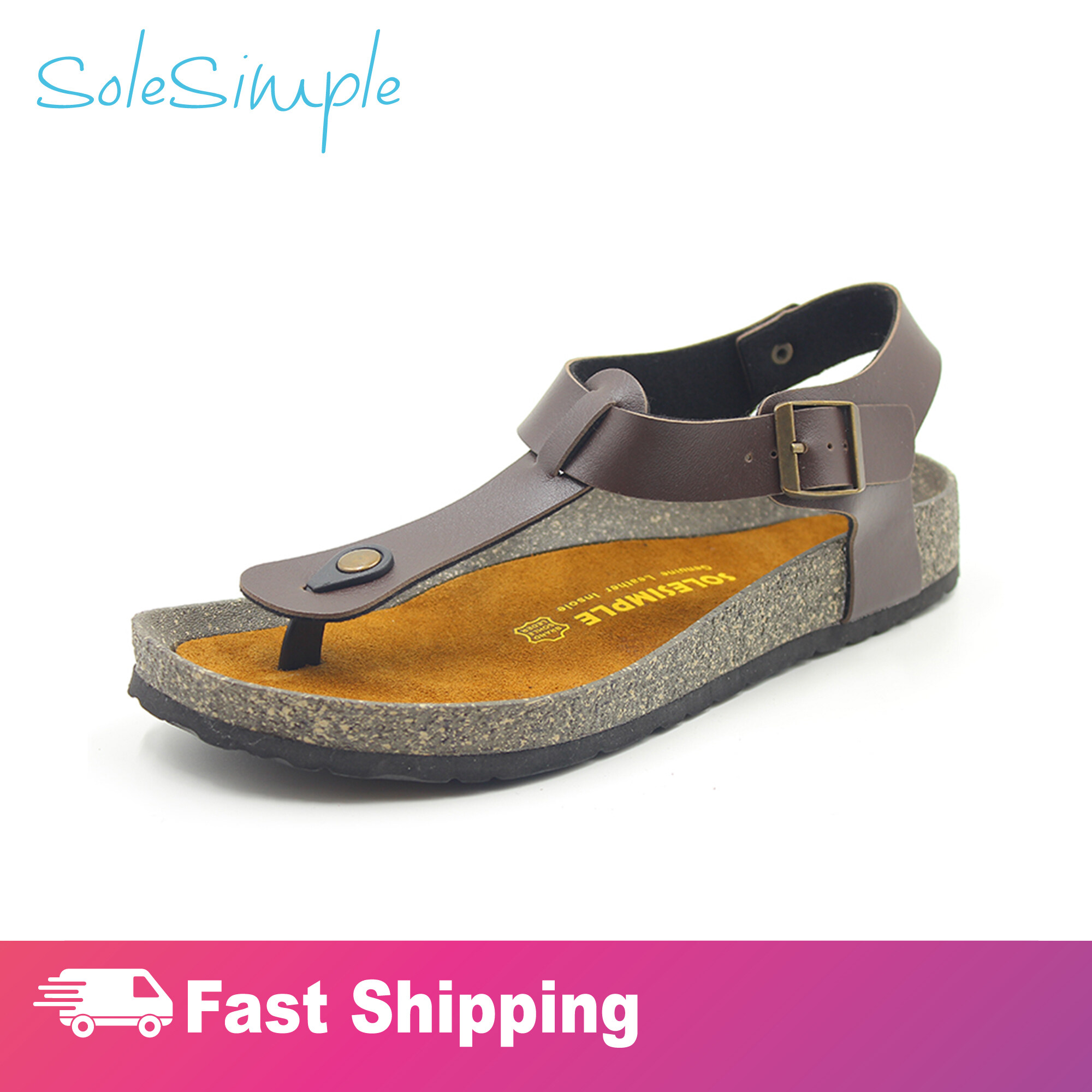 SoleSimple Oxford - Brown / Sandal