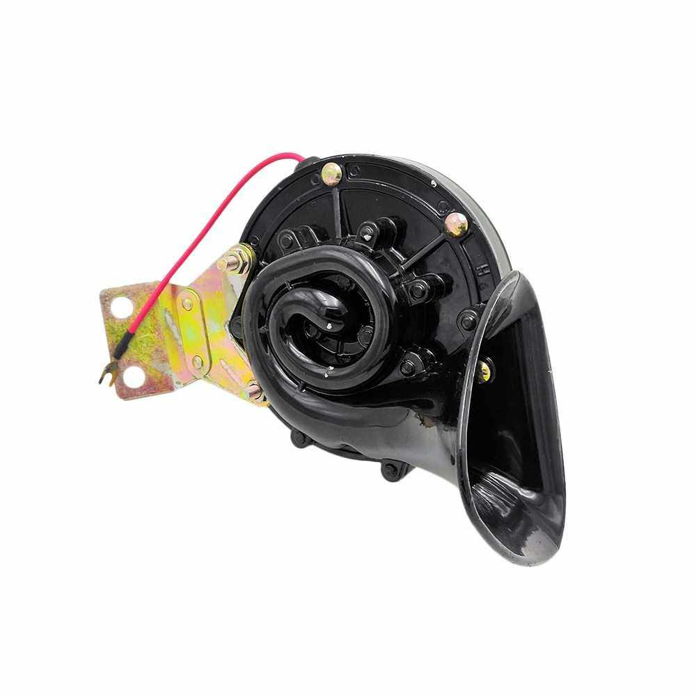 People's Choice Super Loud 120DB 12V Electric Snail Horn Air Horn Raging Sound for Car Motorcycle Truck Boat Crane (Standard)
