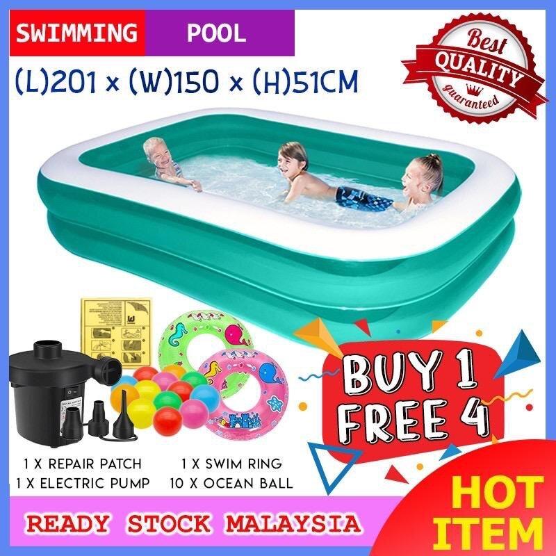 FAST SHIP READY STOCK Bestway Pool inflatable kolam swimming pool