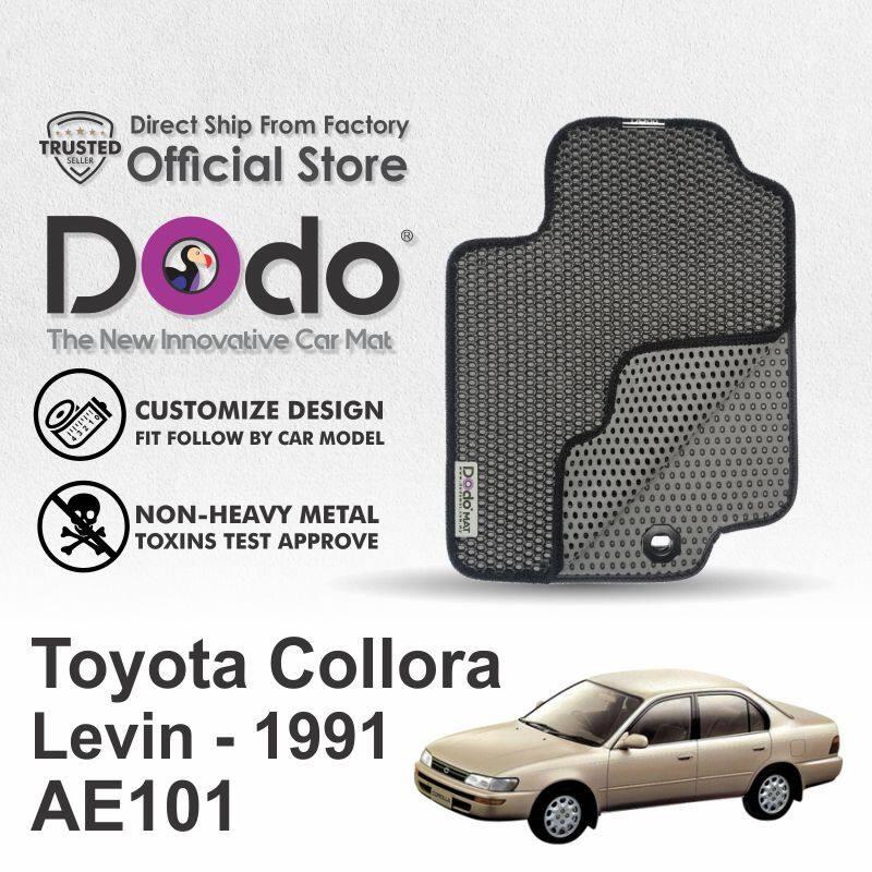 Dodo® car mat / Toyota Collora Levin / 1991- 1995 / AE101