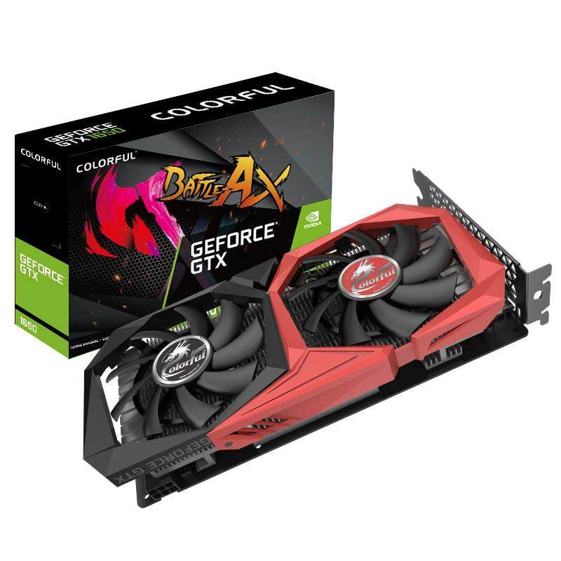 Colorful GeForce GTX 1650 NB 4G Nvidia Graphics Card 1485MHz + GDDR5 + 4GB + CUDA Cores 896 + DP + HDMI + DVI
