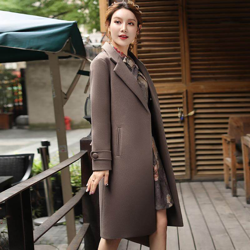 (Pre Order14 Days JYS Fashion Korean Style Women Winter CoatCollection522-5496col522-5496--coklat-M