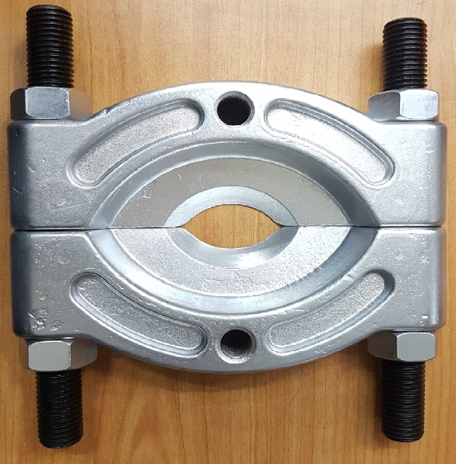 bearing splitter splitting split cut cutter cutting gear pulley puller remover remove pull separate separator tool push machine press pump pressure handle hold holding holder jack lock roll roller rolling press high out lift lifting force power screw jaw