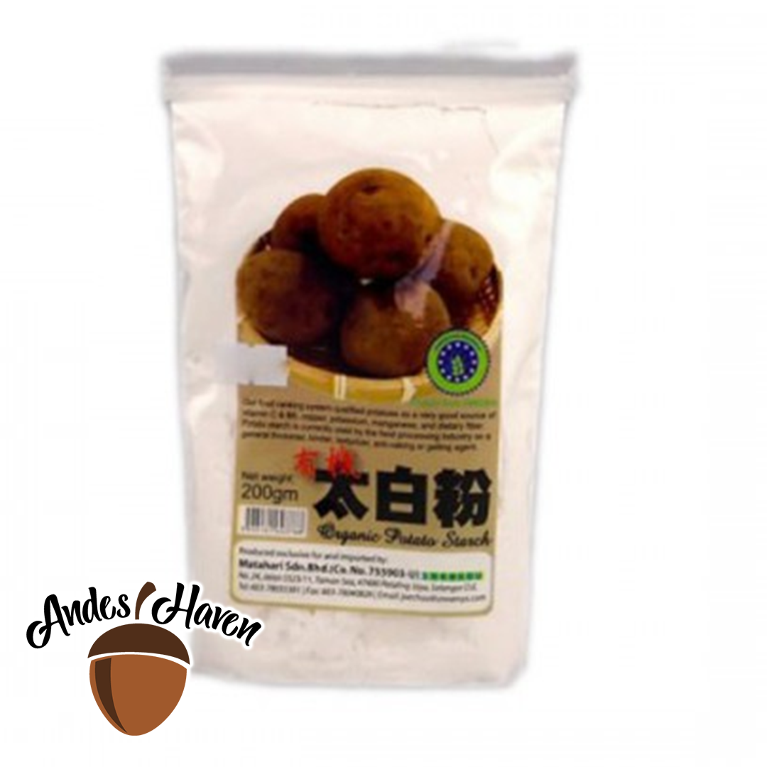 【MH Food】有机太白粉 Organic Potato Starch - 200g