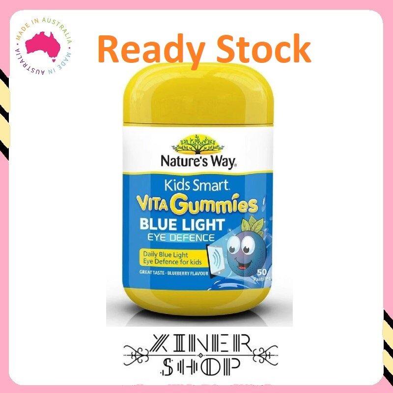 [Ready Stock EXP:08/2021 ] Nature's Way Kids Smart Vita Gummies Blue Light Eye Defence ( 50 Pastilles )(Made In Australia)