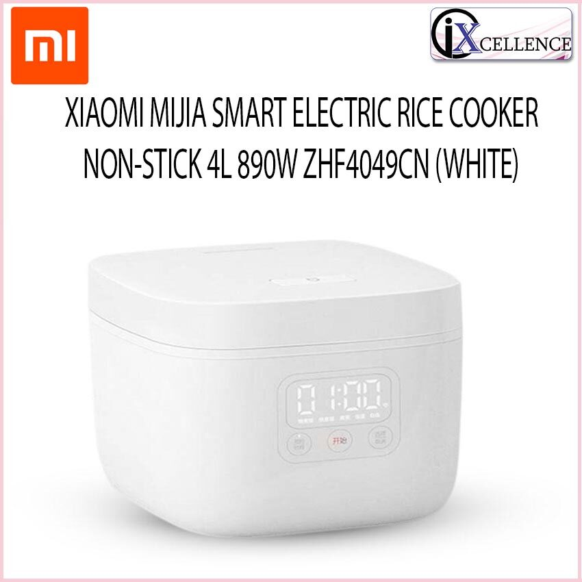 [IX] XIAOMI MIJIA SMART ELECTRIC RICE COOKER NON-STICK 4L 890W ZHF4049CN (WHITE) MDFBD02ACM