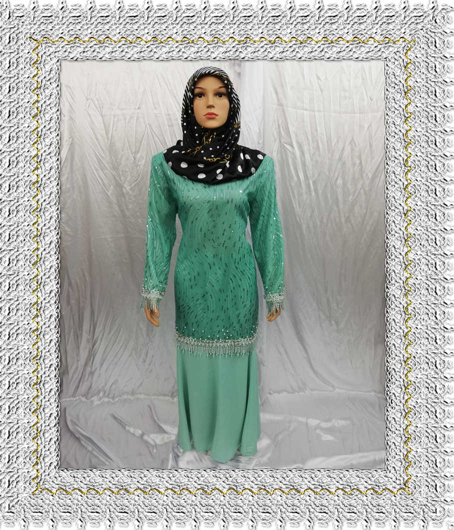 New Collection Baju Kurung Fancy. Prada & Daimond Lace This Month