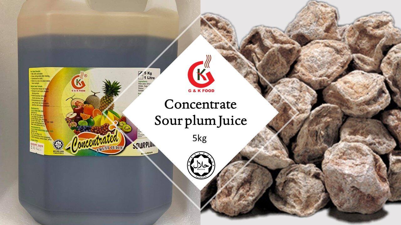 [100% JAKIM HALAL] 5kg Concentrate Sour Plum Juice/ 浓缩酸梅果汁