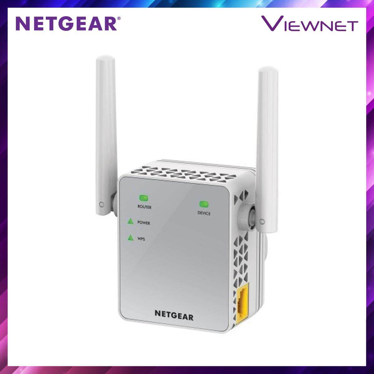 Netgear AC750 WiFi Range Extender - Essentials Edition (EX3700)