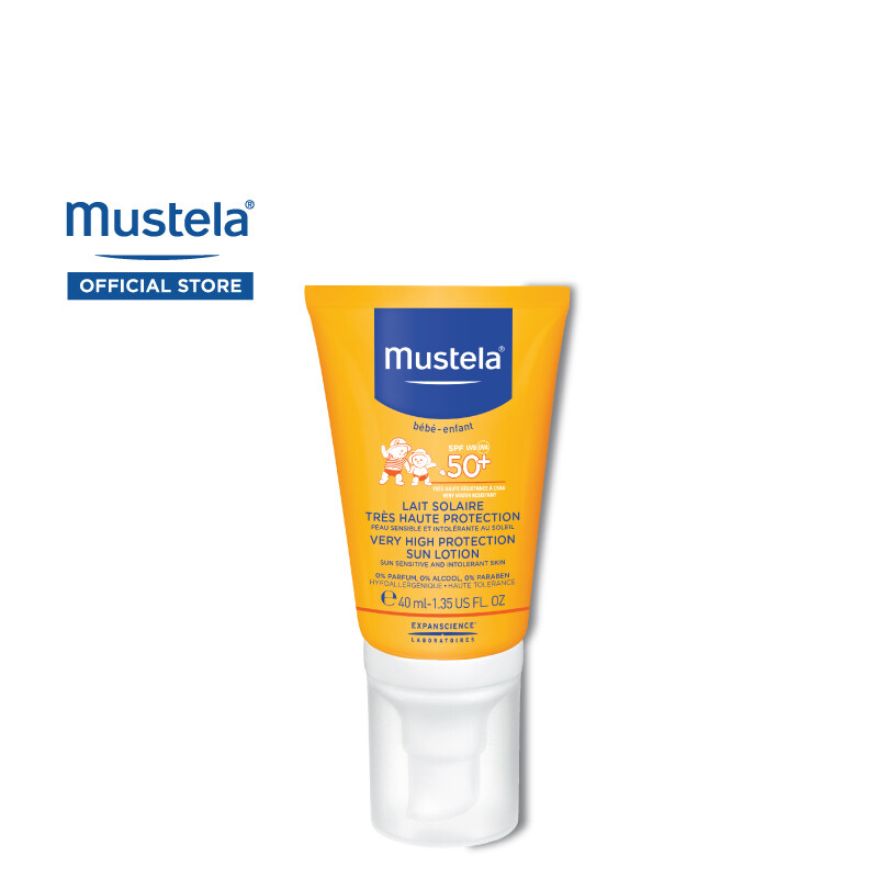 MUSTELA Very High Protection Sun Lotion for All Skin Types (40ml)