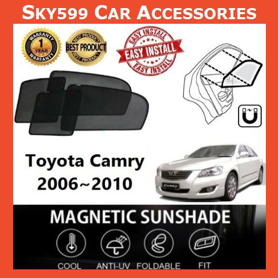 Toyota Camry 2006-2010 Magnetic Sunshade 【4pcs】