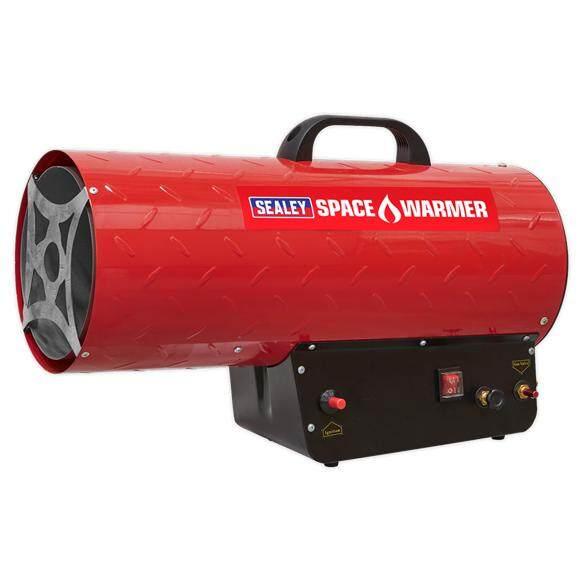 (Pre-order) Sealey Space Warmer   Propane Heater 68,000-97,000Btu/hr Model: LP100