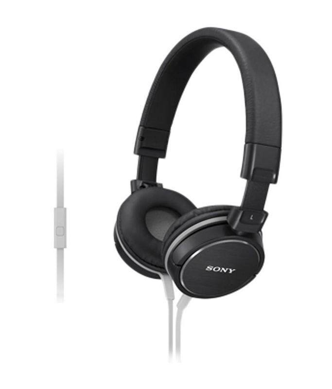 Sony MDR-ZX600 AP On Ear Headphones With Mic BLACK