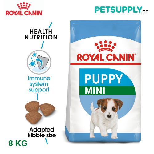 Royal Canin Dry Dog Food Mini Junior 8kg [makanan anjing - PETSUPPLY.MY]