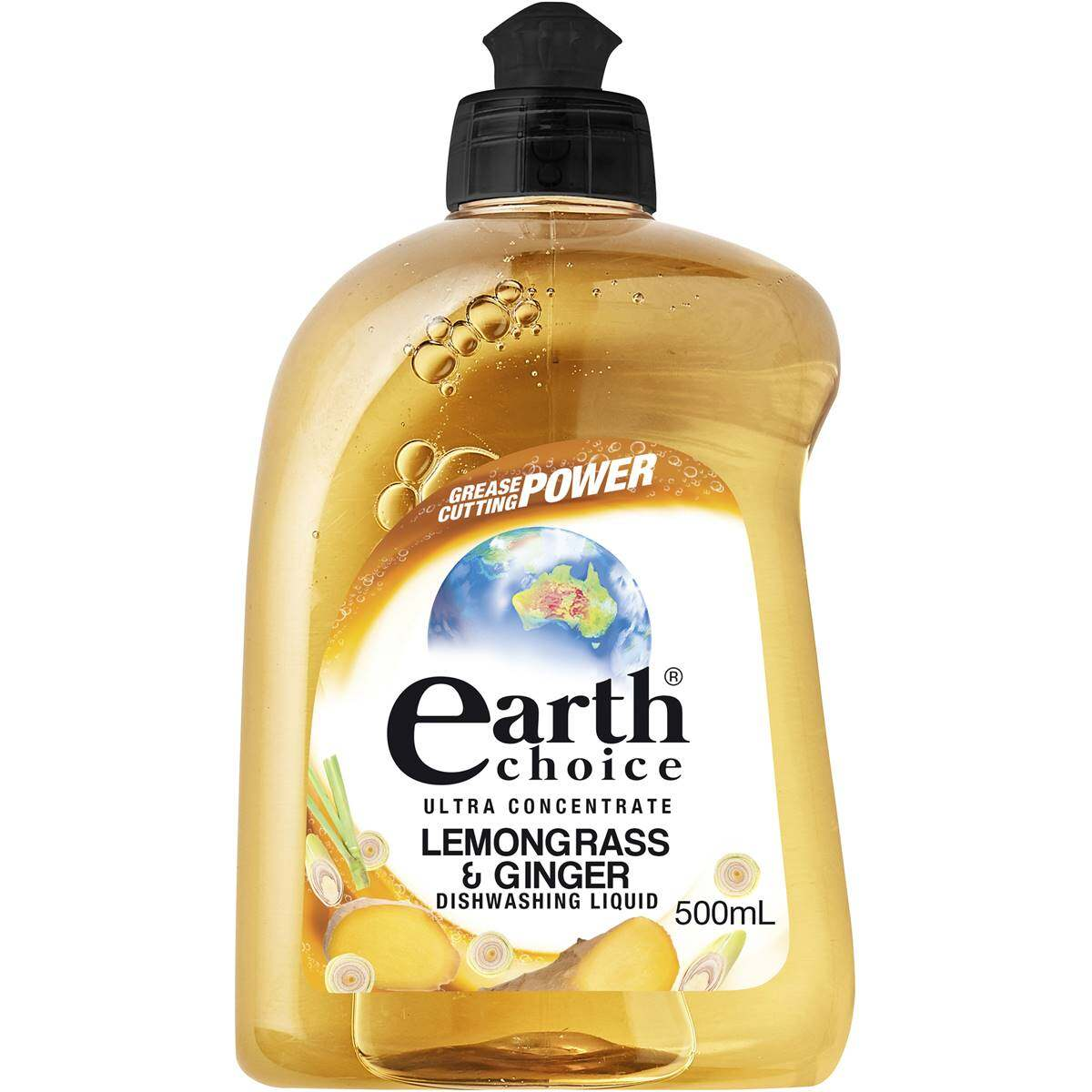 EARTH CHOICE LEMONGRASS & GINGER DISH CONCENTRATE 500ML