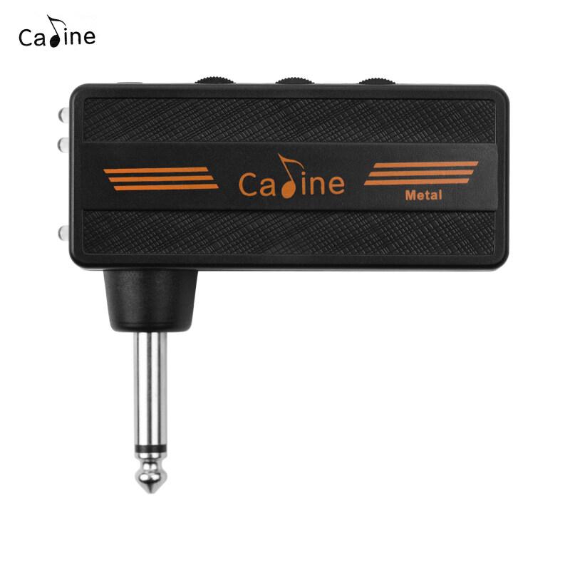 Caline CA-101 Guitar Bộ Khuếch Đại Cho Tai Nghe Chụp Tai Ổ Cắm Mini Khuếch Đại Có Thể Sạc Lại Với Hiệu Ứng Bóp Méo Âm Thanh Cho Điện Guitar