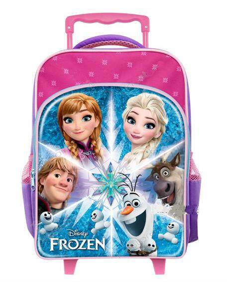 Disney Frozen Aglow Primary School Trolley Bag (New Arrival)
