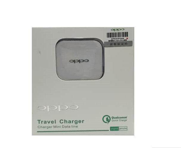 Original Oppo Travel Charger With Charger Mini Data Line