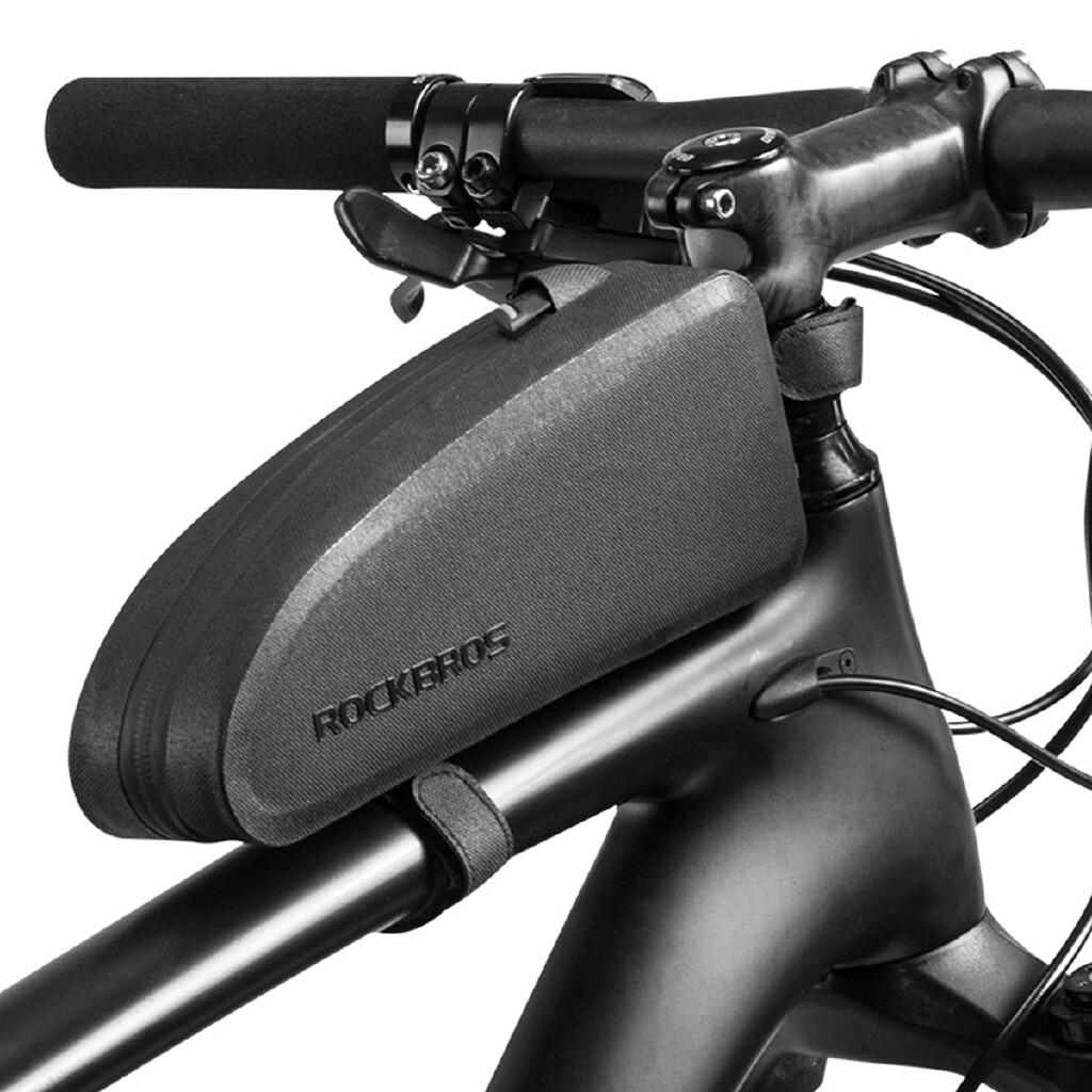 Men\'s Backpacks - Cycling Top Tube Frame Bag Large Capacity ROCKBROS Waterproof MTB Road Bike Bag - S / L