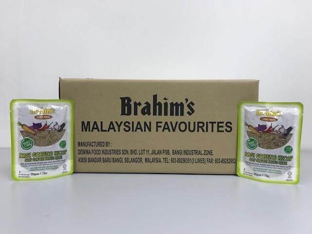 Brahim's Nasi Goreng Kicap 1 Karton (Soy Sauce Fried Rice)