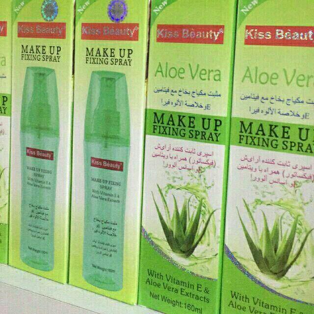 FREE GIFTKiss Beauty Aloe Vera Makeup Fixing Spray