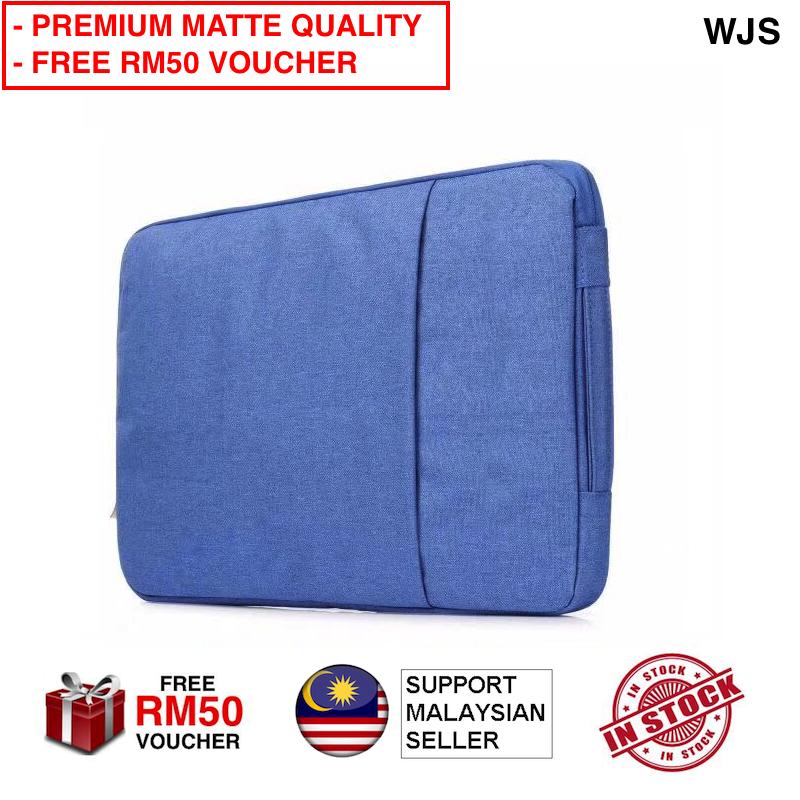 "(PREMIUM MATTE QUALITY) WJS Laptop Bag Laptop Sleeve For Any Laptop MacBook Air MacBook Pro 13"" 15"" Case Sleeve, Laptop Sleeve 13 15, Inch Notebook Protective Case For Apple MacBook 11 13 15 Case Windows Laptop Tablet iPad Beg Laptop (FREE RM 50 VOUCHER)"