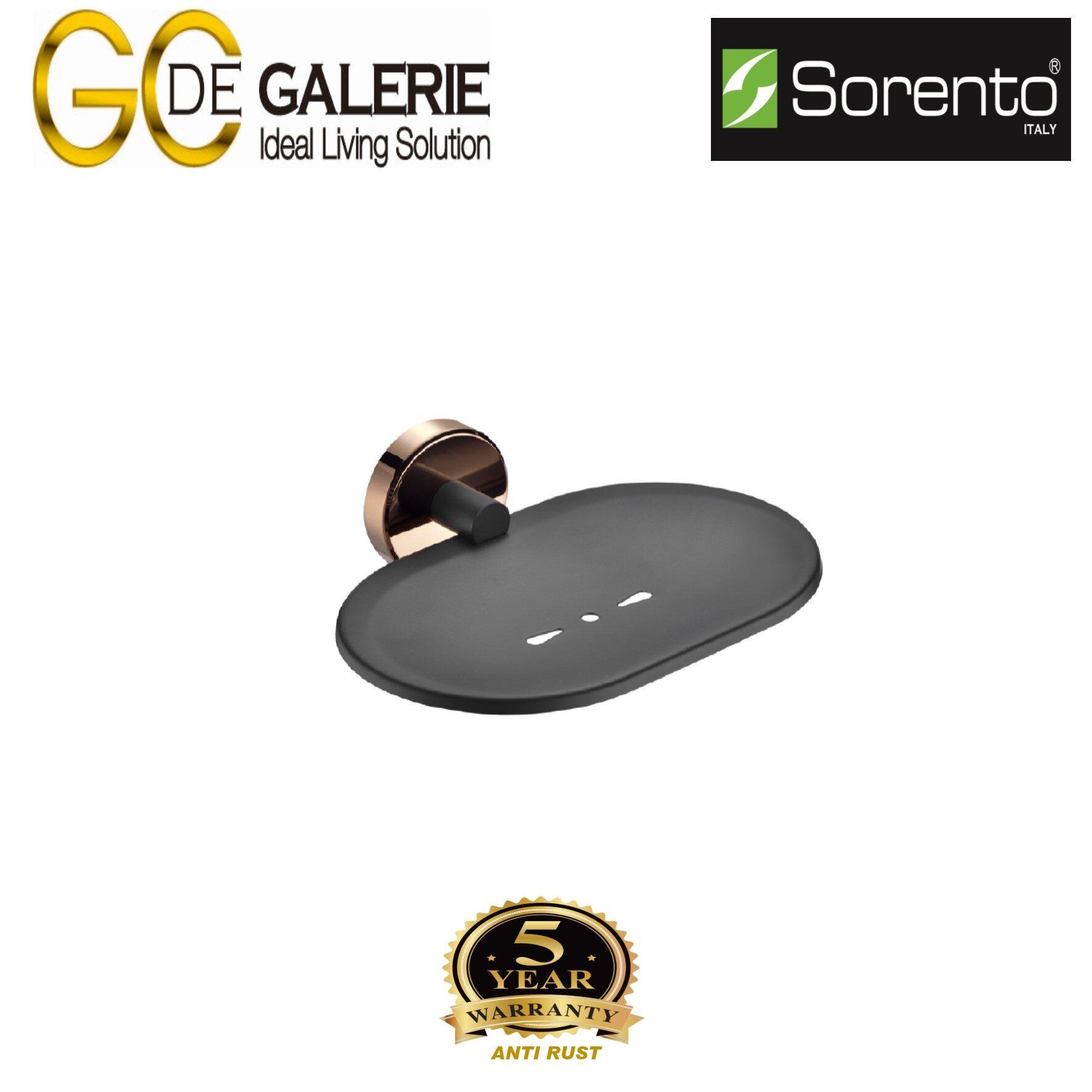 Sorento SRT2402-RG Bathroom/ Toilet Stainless Steel 304 Soap Holder