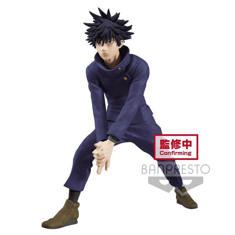 [Ready Stock] Banpresto JUJUTSU KAISEN FIGURE MEGUMI FUSHIGURO Action Figure