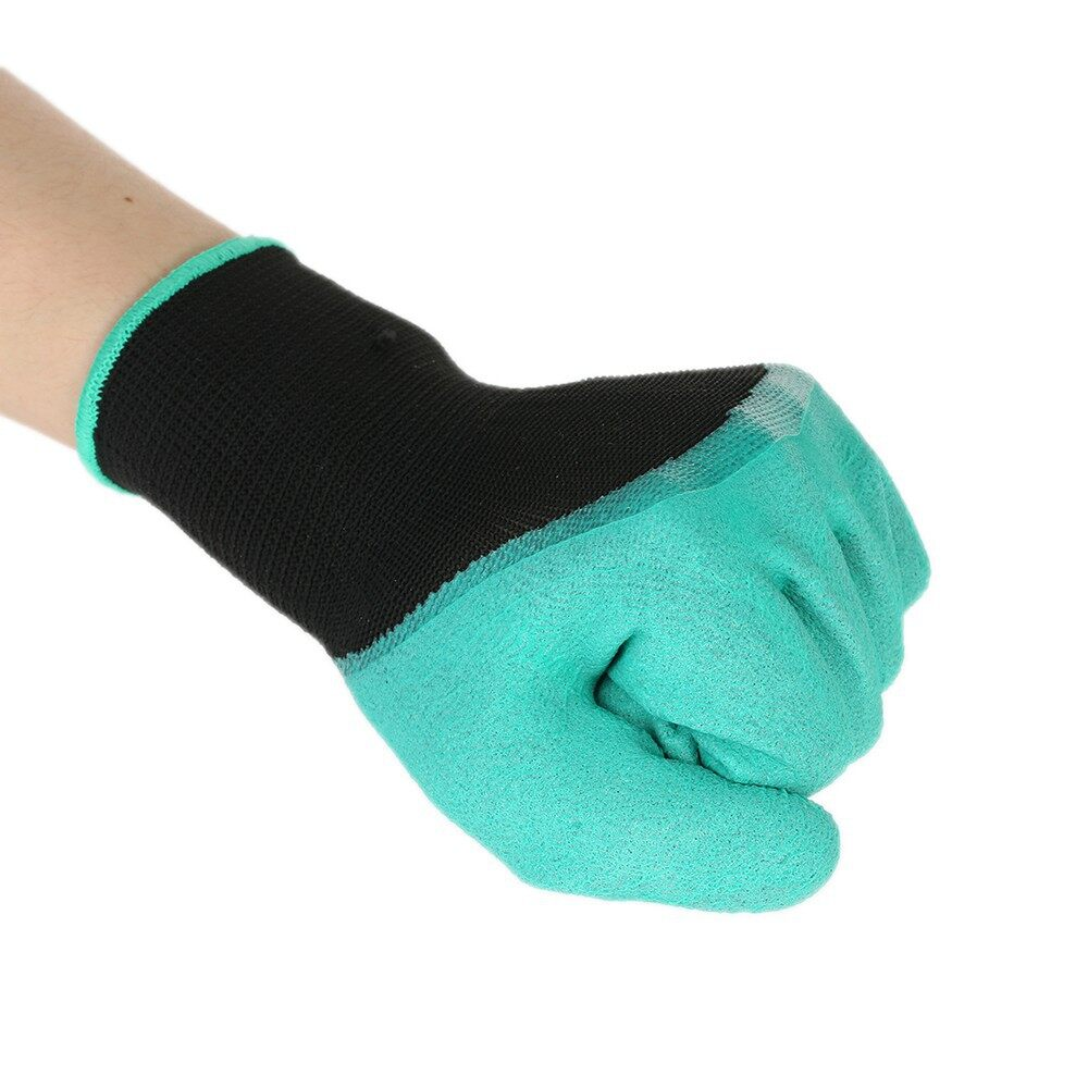 Outdoor & Garden - Gardening Rubber Gloves Digging Planting Plant Protective Unisex - Home Improvement