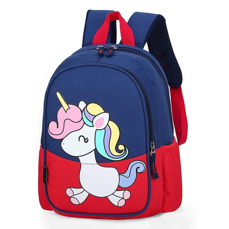 BAGGIE Unicorn Girls Nursery Kindy School Backpack Bag