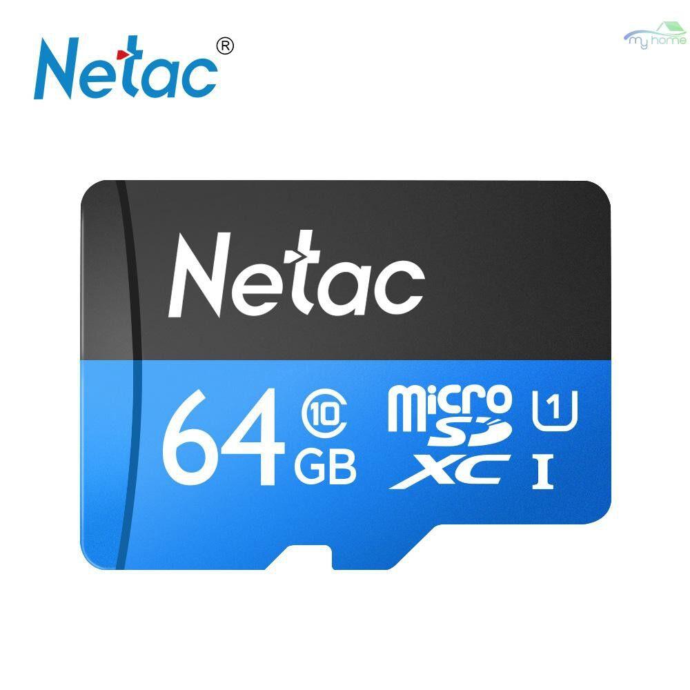 Monitors - Netac P500 Class 10 64G Micro SDXC TF Flash Memory Card Data Storage High Speed Up to 80MB/s - 64GB / 32GB / 16GB