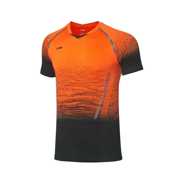 Li-Ning Badminton Tournament Jersey - Orange AAYP317-2