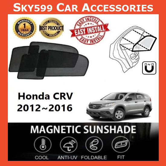 Honda CRV 2012-2016 Magnetic Sunshade ?6pcs?